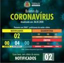 Boletim diário Corona Vírus (COVID-19) – 06/05/2020