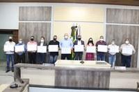 Prefeito, vice e vereadores eleitos são diplomados em Ariranha