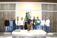 """Prefeitura premia vencedor do Concurso de Fotografia, """"Ariranha 100 anos"""""""