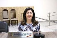 Vereadora Sandra solicita Plano de Carreira e salários para a área da saúde