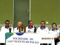Vicentinos recebem moção de aplauso por trabalho social